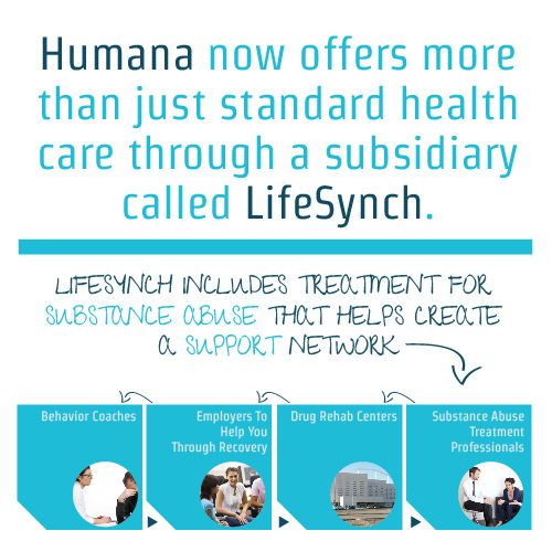 Humana now offers more than just standard health care through a subsidiary called LifeSynch.