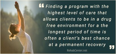 RehabCenter.net 90-Day Alcohol And Drug Rehab Centers Highest Level Of Care