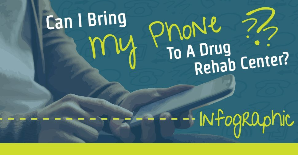 Can I Bring My Phone To A Drug Rehab Infographic