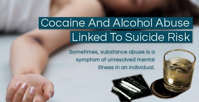 Cocaine And Alcohol Abuse Linked To Suicide Risk