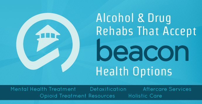 Beacon Insurance Alcohol And Drug Rehabs Graphic With Logo