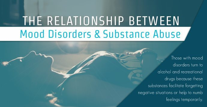 Relationship Between Mood Disorders & Substance Abuse