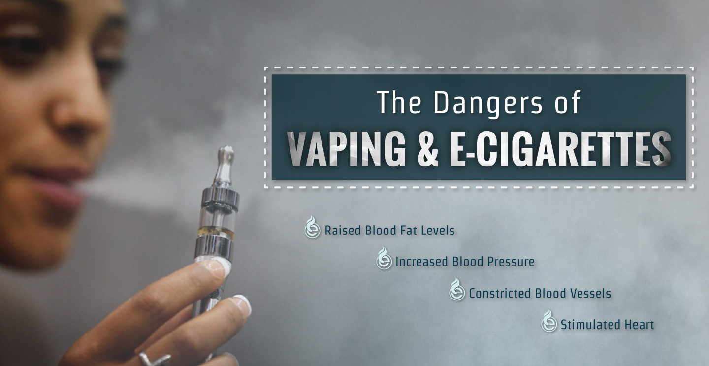 The Dangers of Vaping & E-Cigs Large