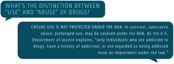Does Addiction Qualify As A Disability Use And Abuse