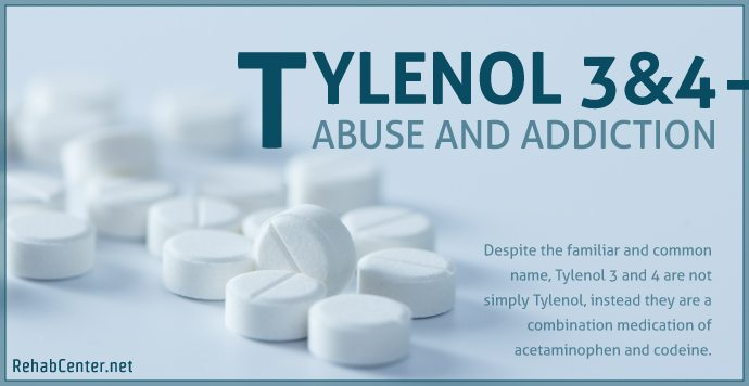 RehabCenter.net Tylenol 3 & 4 Abuse and Addiction