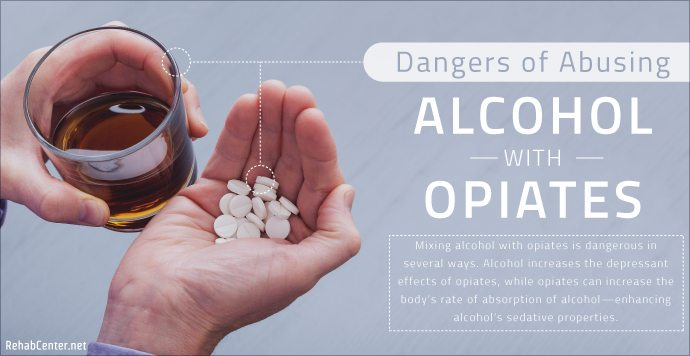 RehabCenter.net Dangers of Abusing Alcohol with Opiates