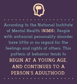 RehabCenter.net Antisocial Personality Disorder and Addiction Young Age