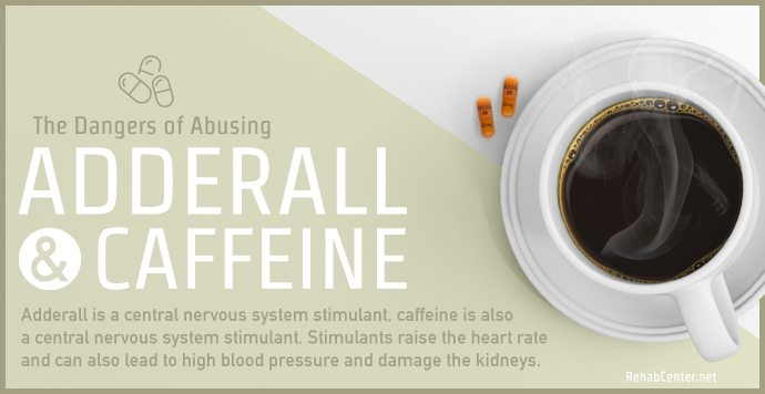 RehabCenter.net The Dangers of Abusing Adderall and Caffeine