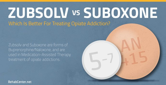 RehabCenter.net Zubsolv vs Suboxone Which is Better for Treating Opiate Addiction
