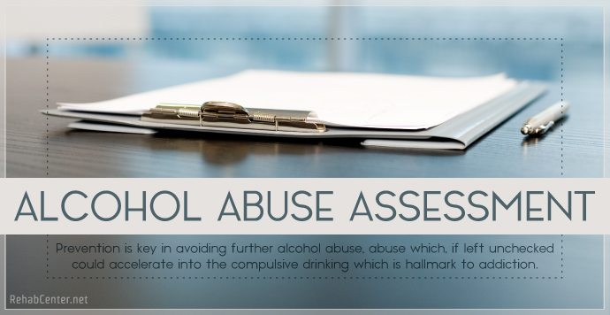 RehabCenter.net Alcohol Abuse Assessment