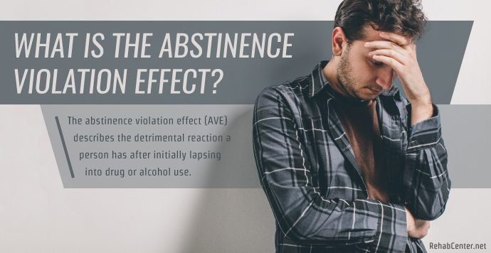 RehabCenter.net What Is The Abstinence Violation Effect