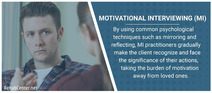 Motivational Interviewing, CRAFT, and ARISE Interventions
