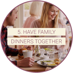 RehabCenter.net Recovery From Addiction 6 Steps for Family Members Dinners