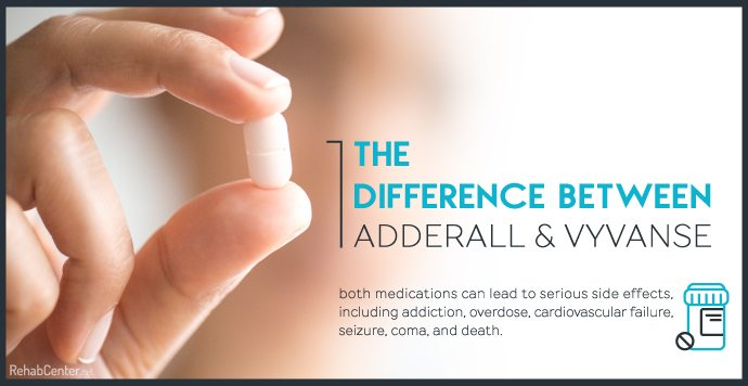 The Difference Between Adderall and Vyvanse