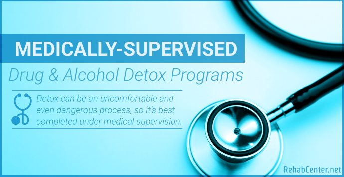 RehabCenter.net Medically-Supervised Drug And Alcohol Detox Programs