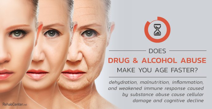 Does Drug and Alcohol Abuse Make You Age Faster-