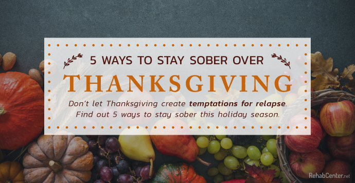 5 Ways To Stay Sober Over Thanksgiving