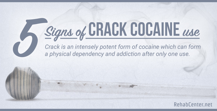 RehabCenter.net 5 Signs Of Crack Cocaine Use