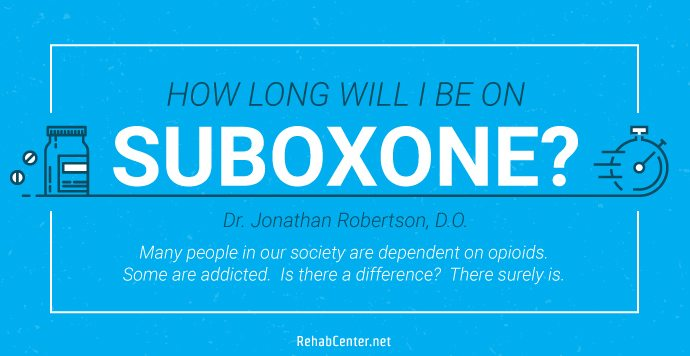 RehabCenter.net How long will I be on Suboxone_