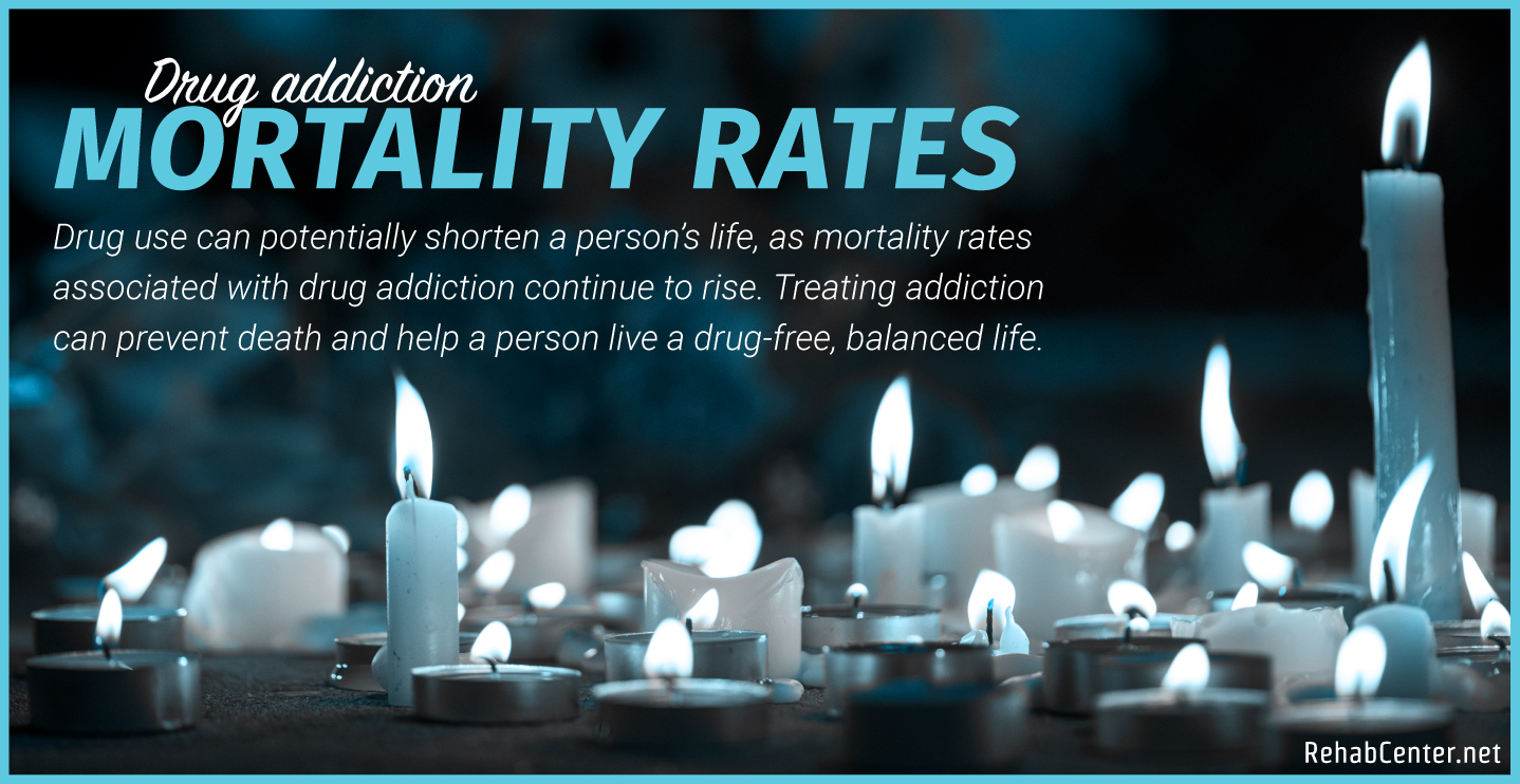 RehabCenter.net Drug Addiction Mortality Rates (Risk Of Death) Featured Image