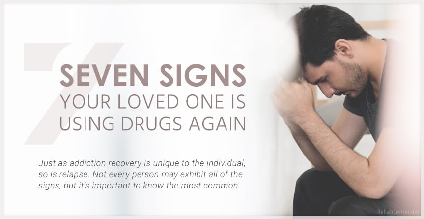 7 Signs Using Drugs Again Featured Image