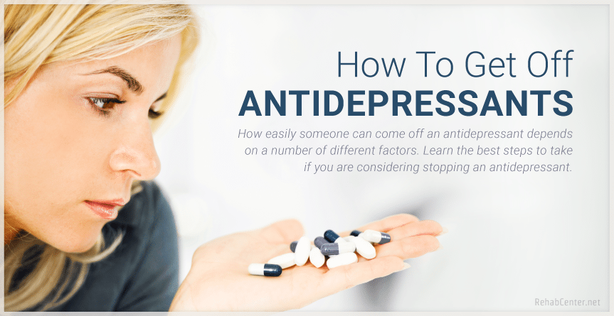 Get Off Antidepressants