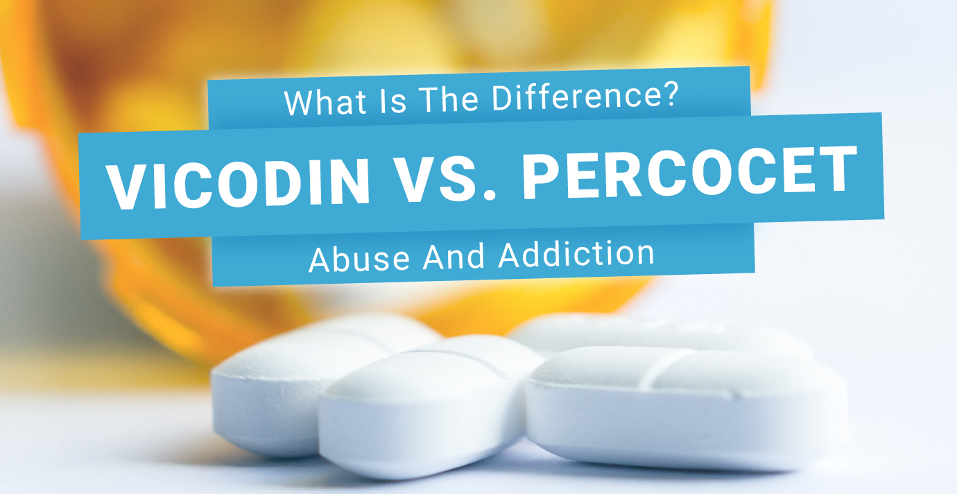 RehabCenter.net Vicodin Vs. Percocet Abuse And Addiction What Is The Difference Featured Image
