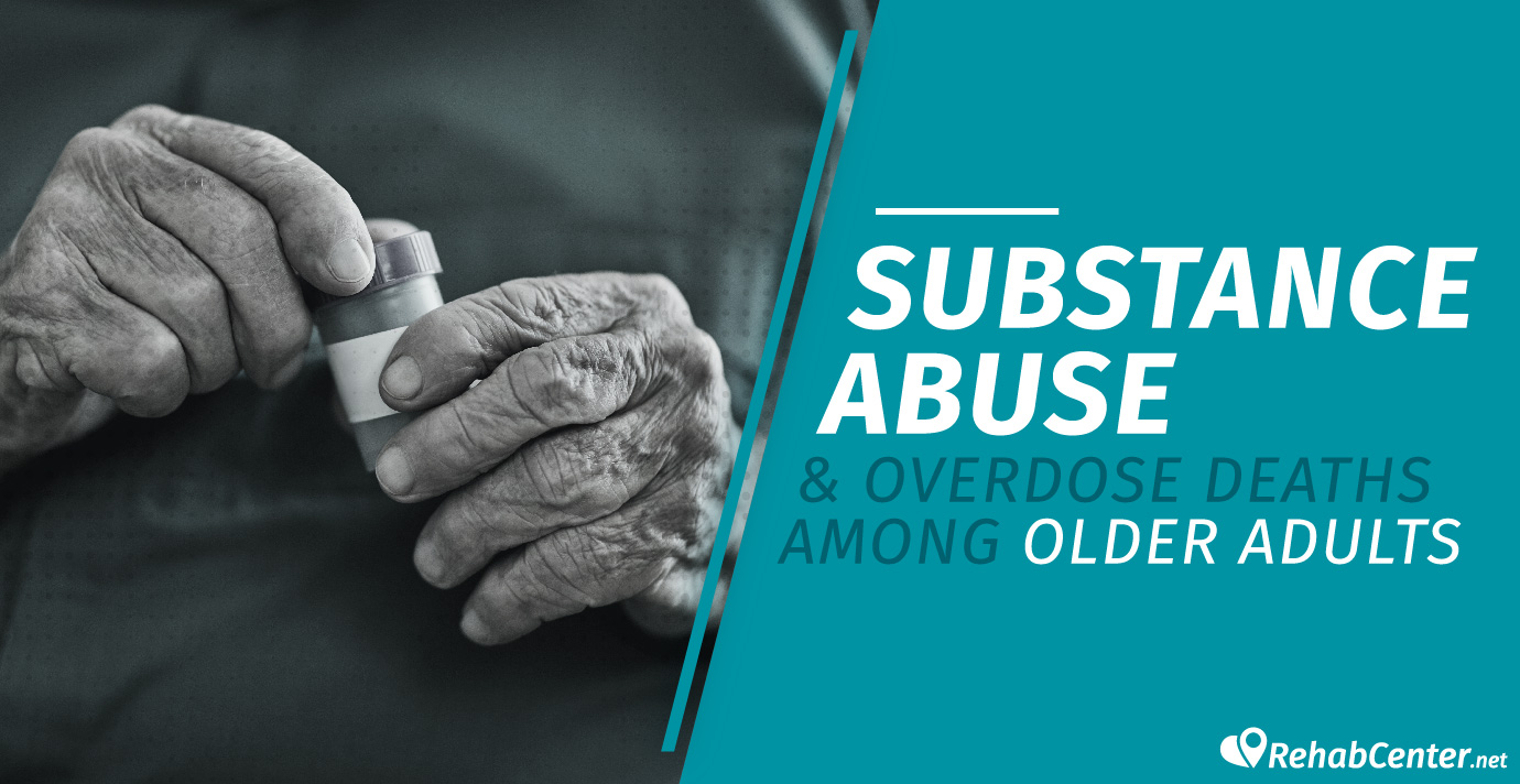 Substance Abuse And Overdose Deaths Among Older Adults Women holding a pill bottle
